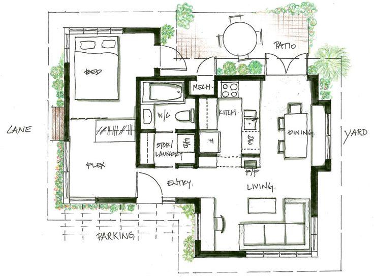 Laneway house plans 28 images arbutus floorplans for Best house design vancouver