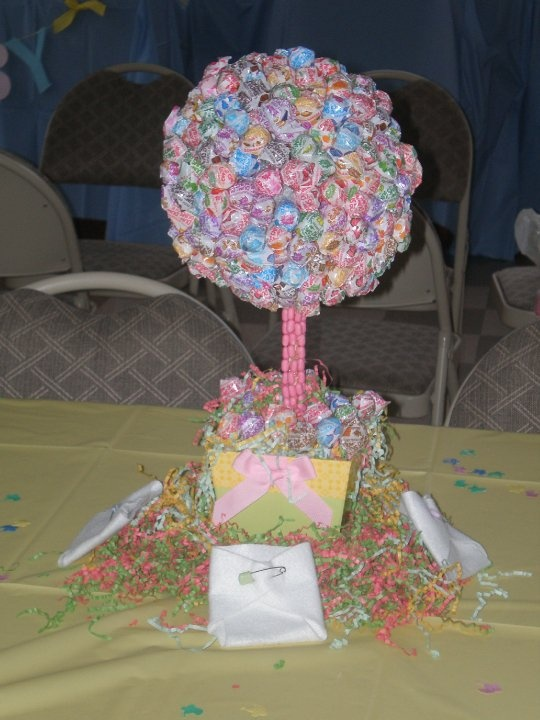Candy baby shower best centerpiece idea