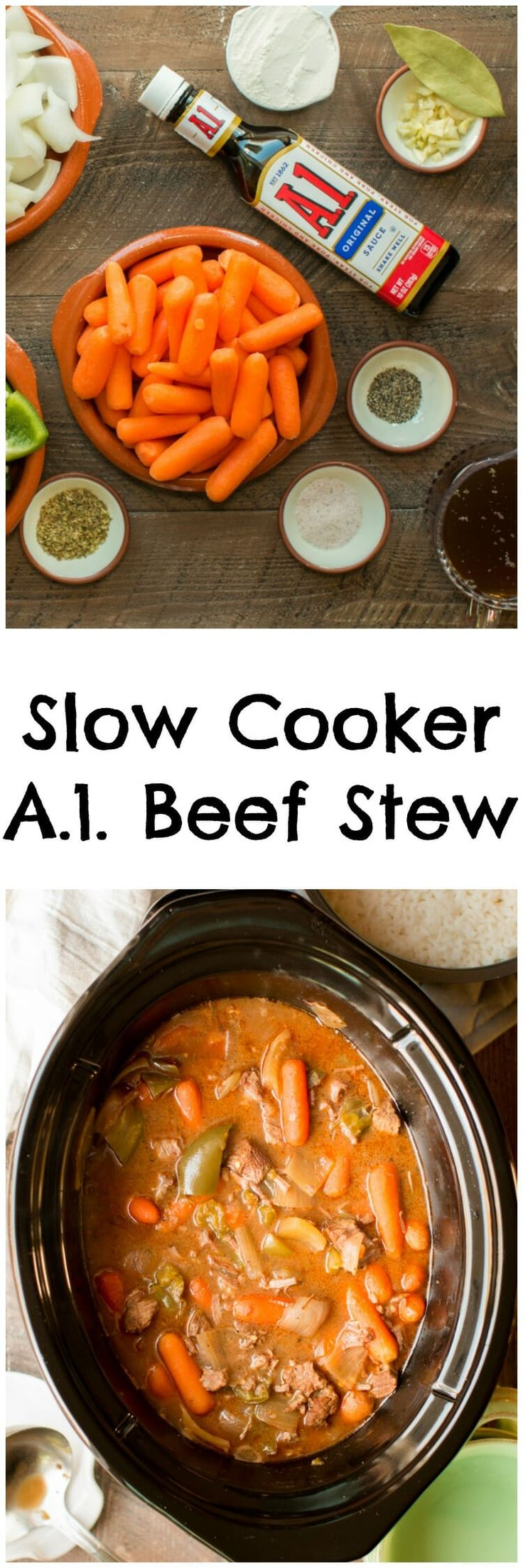 Slow Cooker A.1. Beef Stew