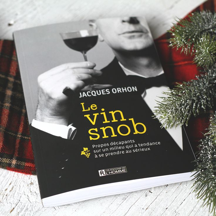 Avec une touche d'humour propre à M. Orhon, auteur du guide Le Vin Snob, le sommelier remet les pendules à l'heure en démystifiant les approches biologiques et « nature », les vins de stars et la spéculation. Bref, il dépouille le « divin nectar » à l'essentiel : le plaisir partagé simplement, en toute convivialité! « Pour en finir avec le snobisme imposé par les «parvenus du bouchon» et les «bobos du goulot». »   Prix : 27,95$