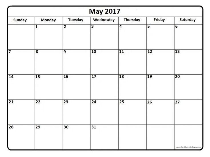 175 best 2017 Printable calendars images on Pinterest | Calendar ...