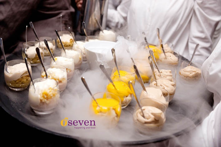 Oseven happening and food - desserts, cold as ice!