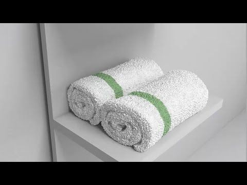 3ds max Tutorial: a roller towel Modeling - YouTube