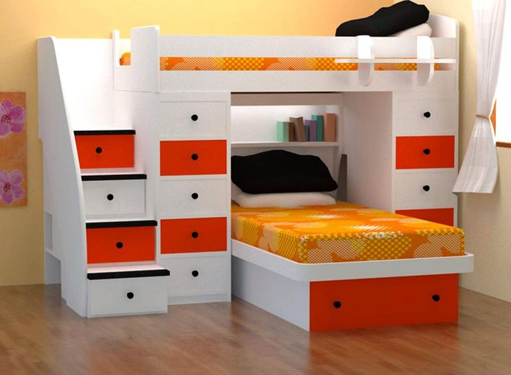 Bedroom Furniture For Small Rooms Part - 41: 107 Best Bedroom Images On Pinterest | Bedroom Ideas, Children And Home