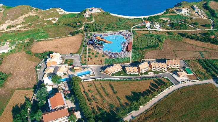 Ionian Sea Hotel and Villas Kefalonia Island. The Ionian Sea hotel is situated on the south end of the island, in the quiet, unspoilt green countryside 7 kilometres from the picturesque town of Lixouri.
