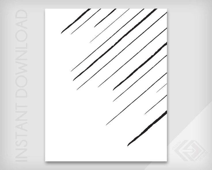 Diagonal Lines - Abstract Wall Art - JPG & PDF Instant Download - Modern Minimalist Digital Print by EastonDesign on Etsy