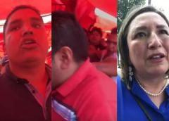 Xóchitl Gálvez y Vázquez Mota son agredidas en tianguis de Tlalnepantla