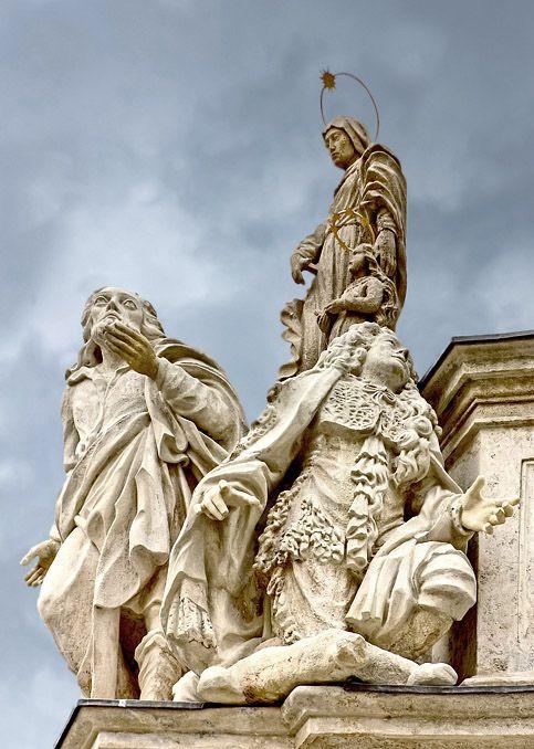 Part of the Sopron Plague Column 1 - Sopron, Vas