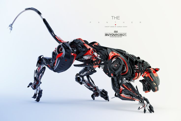 Wild hunter – robotic panther artwork was made for…