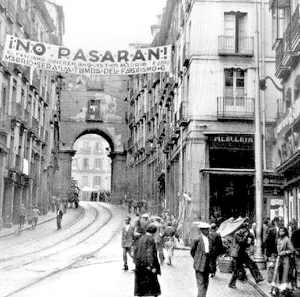 ¡No pasarán! -Discurso de la Pasionaria en Madrid (Julio de 1936)