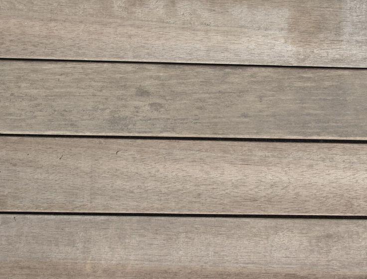 Grey mahogany ready for treatment
