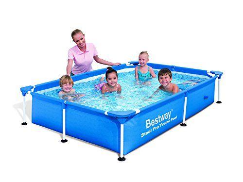 Bestway Steel Frame Pool Splash Junior Backyard Swimming Pools