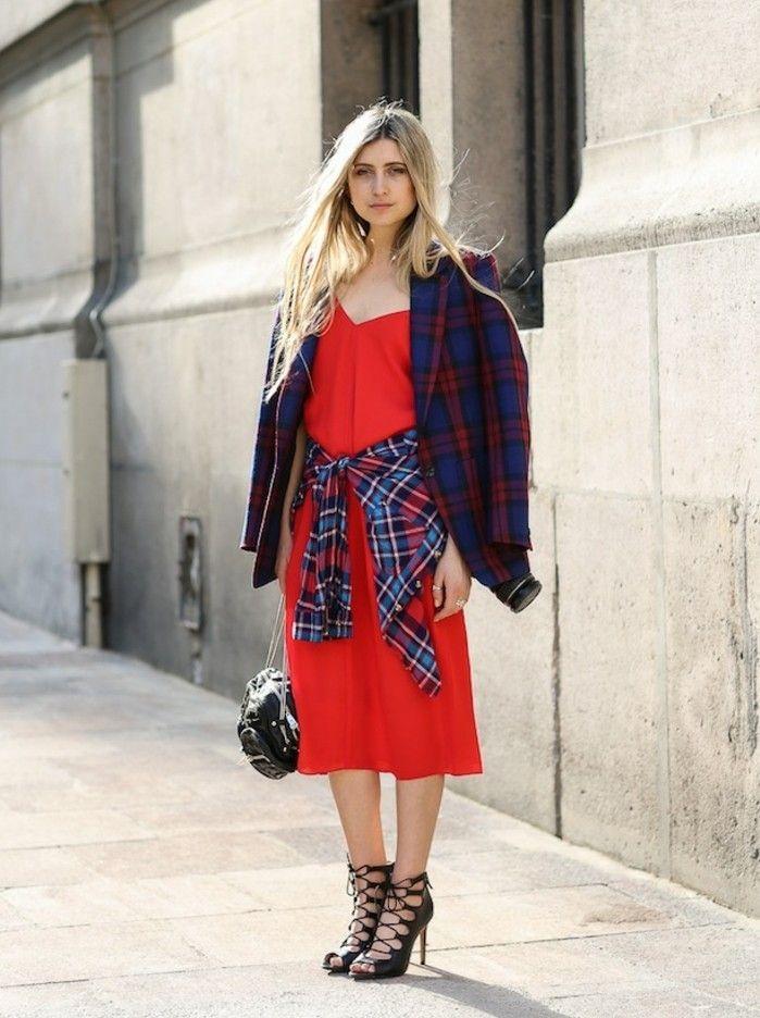 Welche jacke passt zu rotem kleid