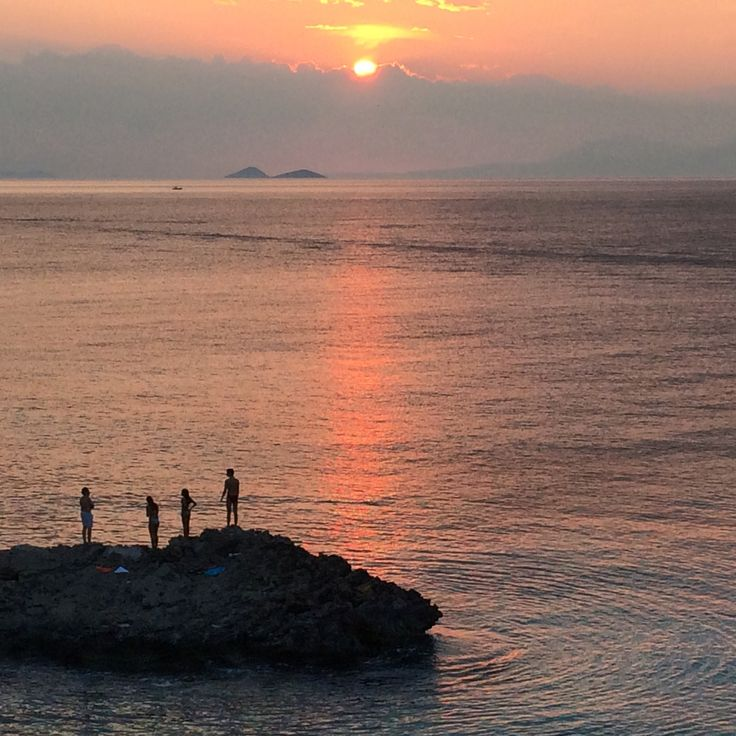 Sunset, Souvala, Aegina island, Saronic golf, Greece
