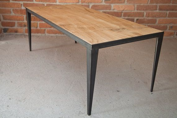 Industrial coffee table by KORNIK on Etsy