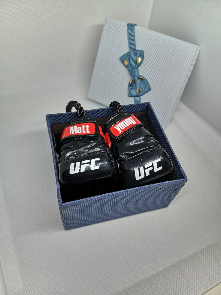 UFC Fighters Gloves Custom MMA gifts Car hanging Ufc