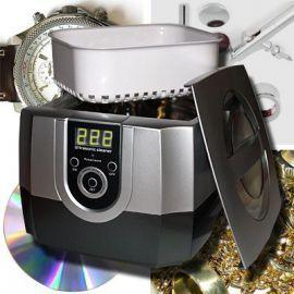 Mit unserem neuen verbesserten TMT-4800A Ultraschallreinigungsgerät erhalten Sie das perfekte Reinigungsgerät für Brillen, Schmuck, Uhren, Rasierer, Kämme, Zahnbürsten, Zahnspangen aber auch für Druckköpfe, antike Münzen, Ventile, Zahnräder, CDs, Besteck sowie sonstigen Kleinteilen aus Hobby und Werkstatt. Besonders gut geeignet sind unsere Geräte für das Reinigen sämtlicher Airbrushpistolen und Zubehör. US2
