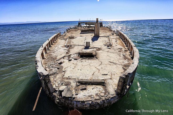 Seacliffs State Beach: Sunken Ship at the End of the Pier in Aptos, CA | California Through My Lens