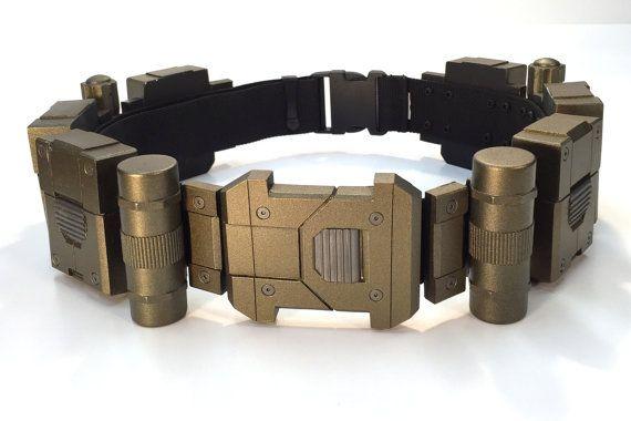 Batman Concept Utility Belt by ValorReplicas on Etsy