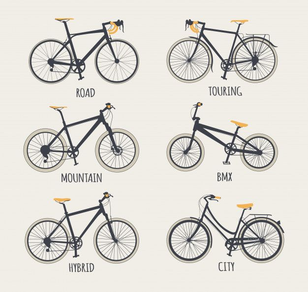 Set Of Bikes