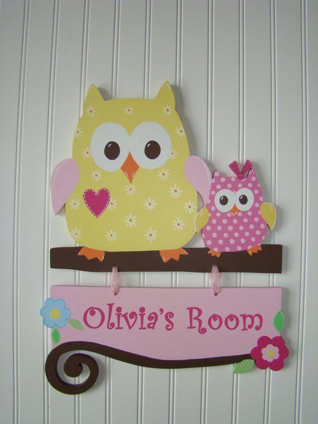 Happi Tree Owls Wall Hanging