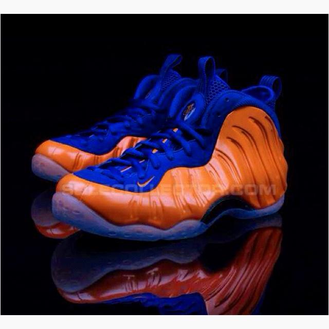 Spike Lee Foamposites. Would you cop? #Nike #Foamposites #NYKnicks
