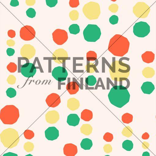 Onnenpäivä – Valot  by Maria Tolvanen  #patternsfromfinland #mariatolvanen #pattern #surfacedesign #finnishdesign