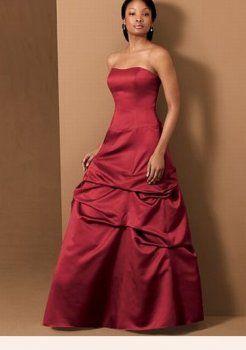 rouges robes de demoiselle