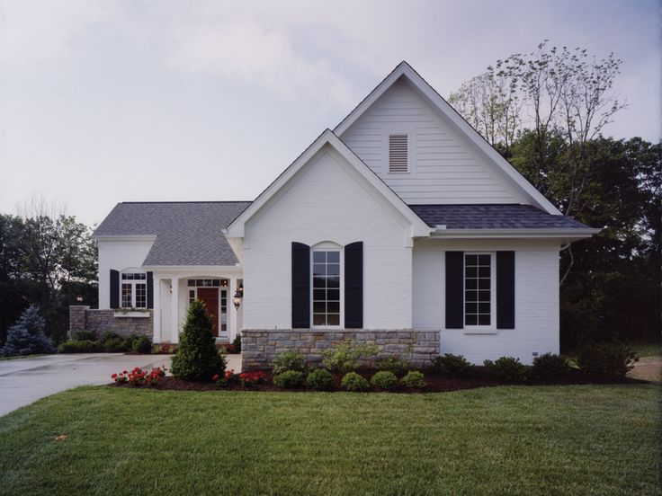 Best Home Plans With Great Curb Appeal Images On Pinterest - Ultimate stone homes collection