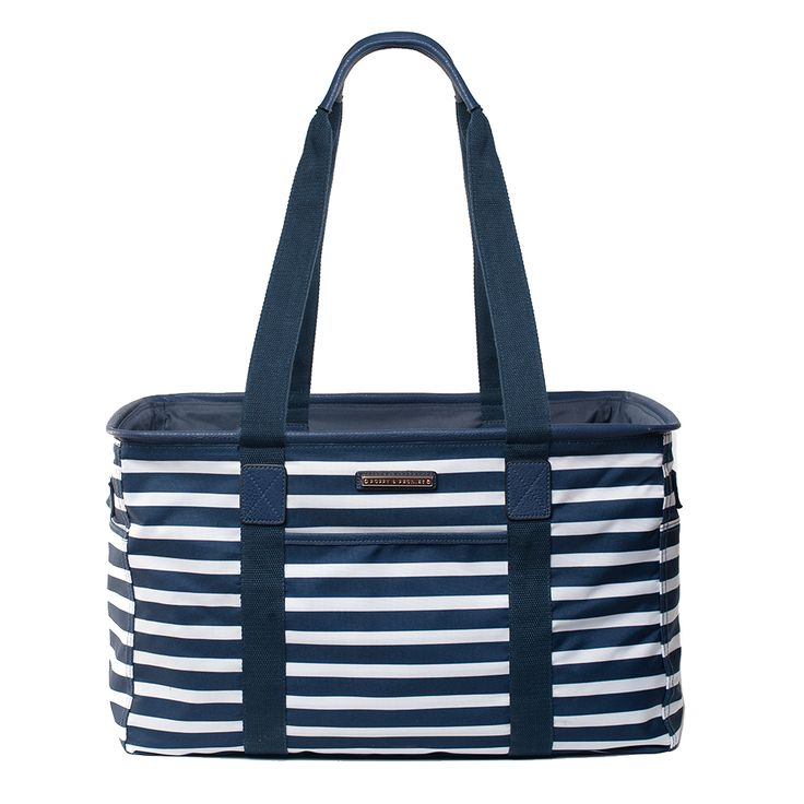 the TRAVELLER nautical – this would make those post Costco trip unload way easier. Now I just need to remember to bring them with me.... www.poppyandpeonies.com/hailey