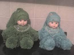 Resultado de imagem para bonecas de lã passo a passo com moldes