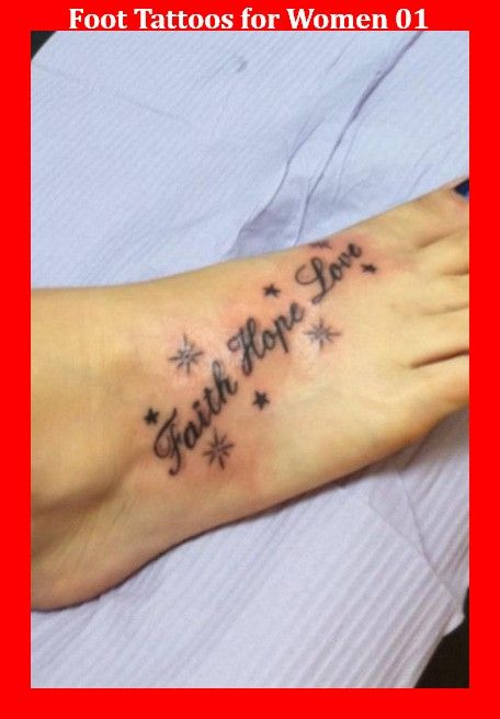 Foot Tattoos for Women 01