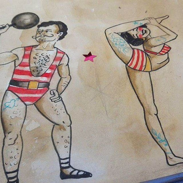 Warm up 😋 wer auch gern sowas auf der Haut hätte, kann sich ruhig melden. Ich zeichne Euch was maßgeschneidert & freu mich wenn ich Wünsche erfüllen kann ++ facebook kontakt: Anne Hobbs / thanks for looking ++ liebe grüße! #drawings#drawdaily#customtattooing…