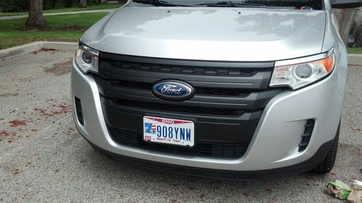 Plasti Dip Ford Edge Grille 5 Coats 15 Min Dry Time
