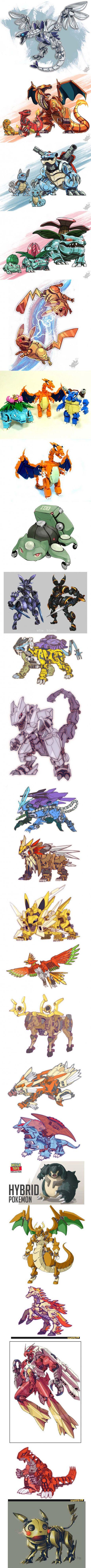 Pokémon - Robo Starters