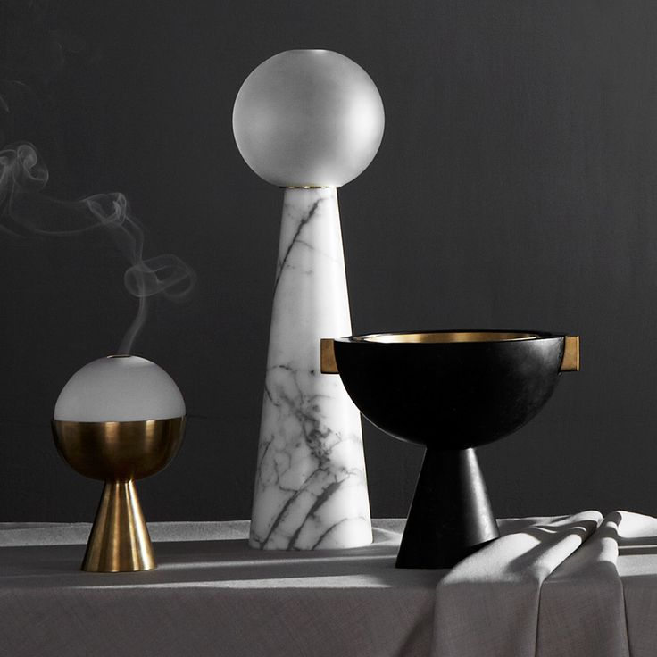 New Marble Lighting and Home Accessories by Apparatus