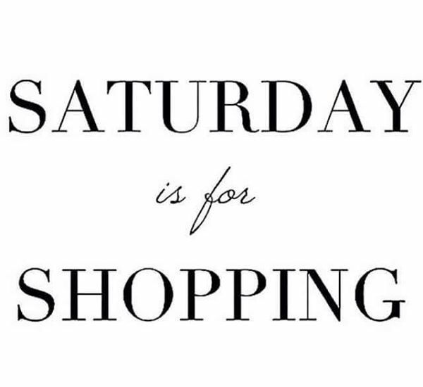Image result for saturday shopping tips
