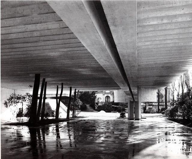 architettura & co.: Sverre Fehn: Padiglione dei Paesi Nordici, Venezia, Italia progetto di concorso, primo premio, 1958 - 1962