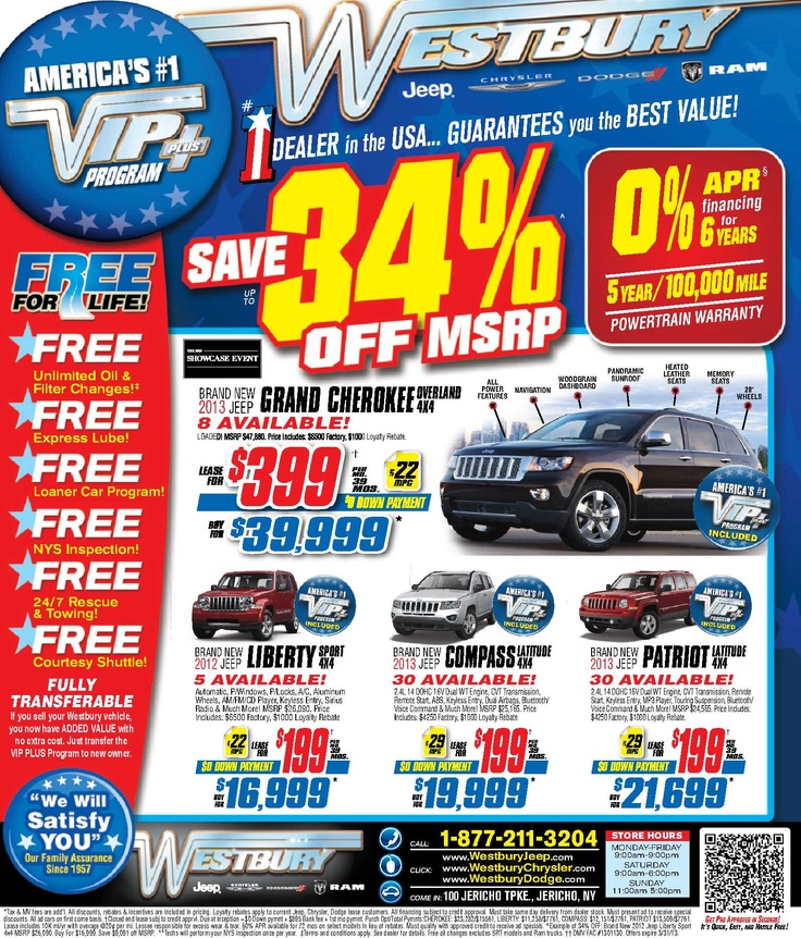 Pin By Westbury Jeep Chrysler Dodge Ram On Our Deals