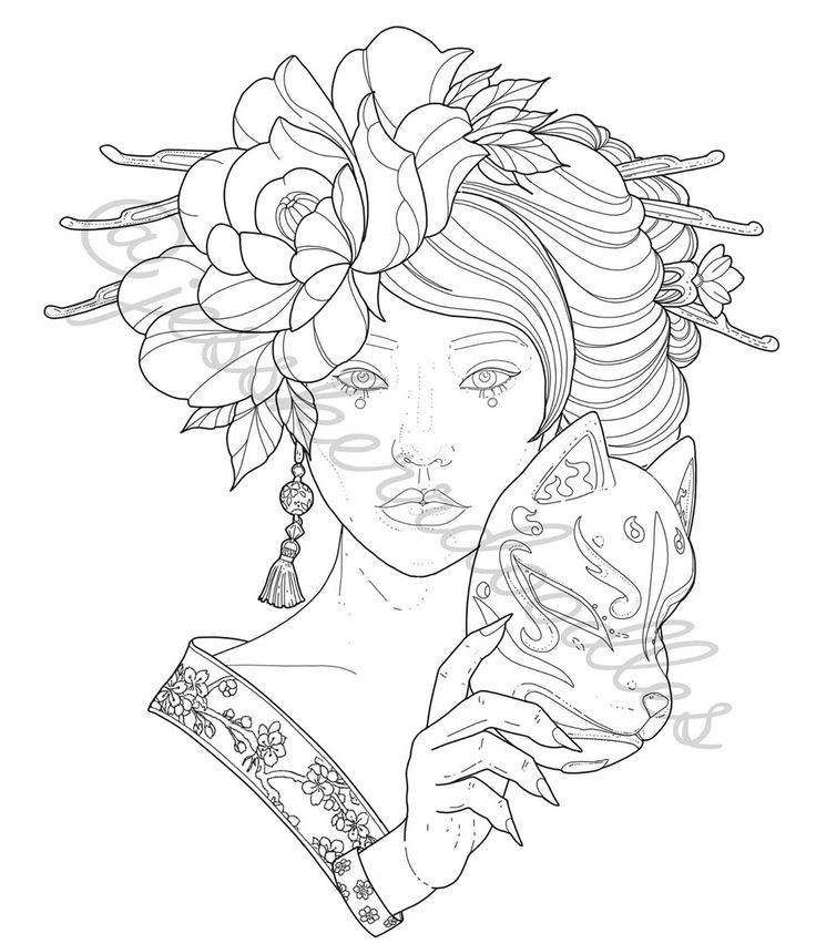 Pin by Kristina Livesay on coloring   Angel coloring pages