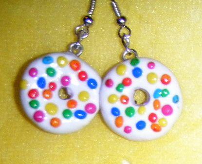 fimo handmade donut
