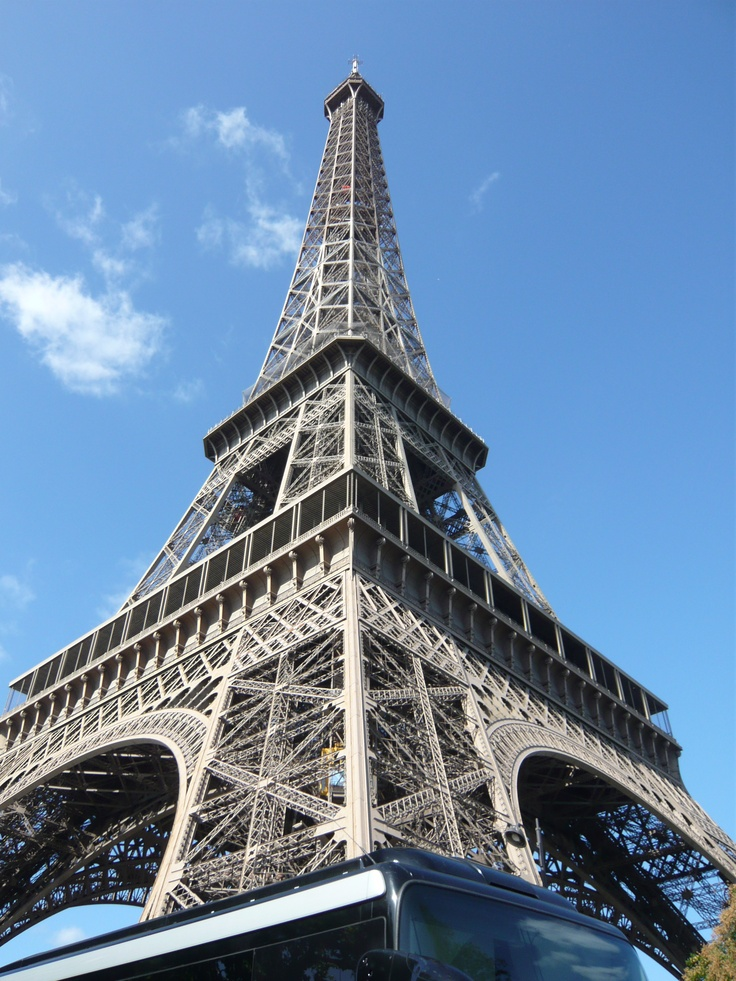 Thanks to D. Carr for this shot of the Eiffel Tower in Paris, France!