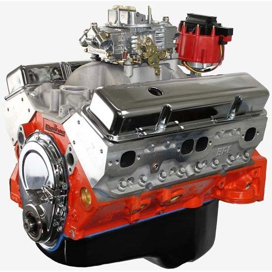 BluePrint PS4272CTC Chevy 427 SBC Pro Series, Base Crate Engine, Alum Heads