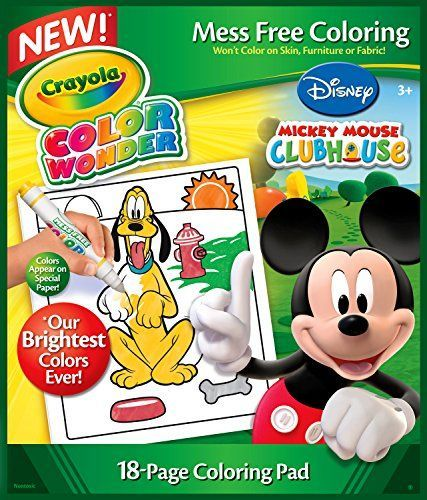 Crayola Color Wonder Disney Preschool Coloring Pad -- Additional info @