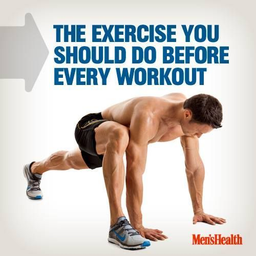 The Exercise You Should Do Before Every Workout