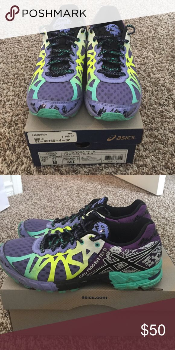 Asics Noosa Asics Noosa, gently worn, still in box, comes with extra laces Asics Shoes Sneakers