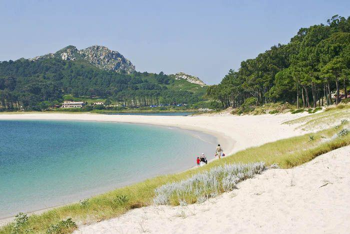 Playa de Rodas Galicia Islas cíes