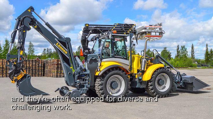 Lännen multifunction machines & engcon Q Safe #lannen #engcon #machine #construction