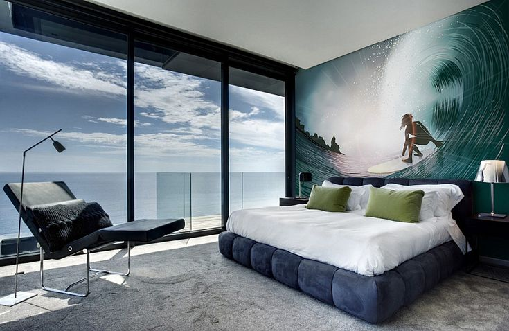 optical ilusion wall mural