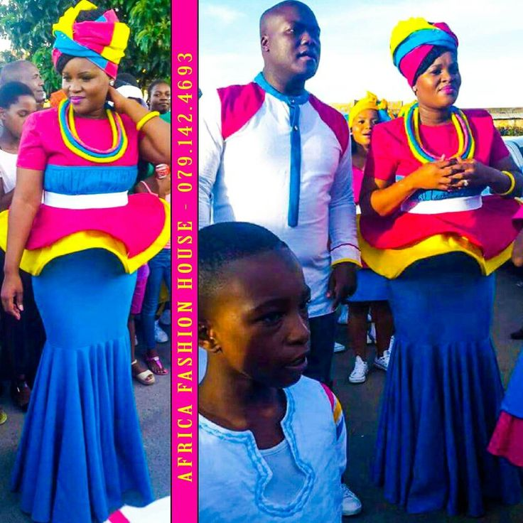 African Traditional Dresses, Sepedi